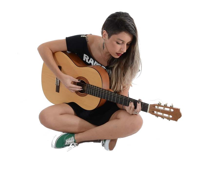 nauka gry na gitarze ełk akademia szesciostrunowa uczennica